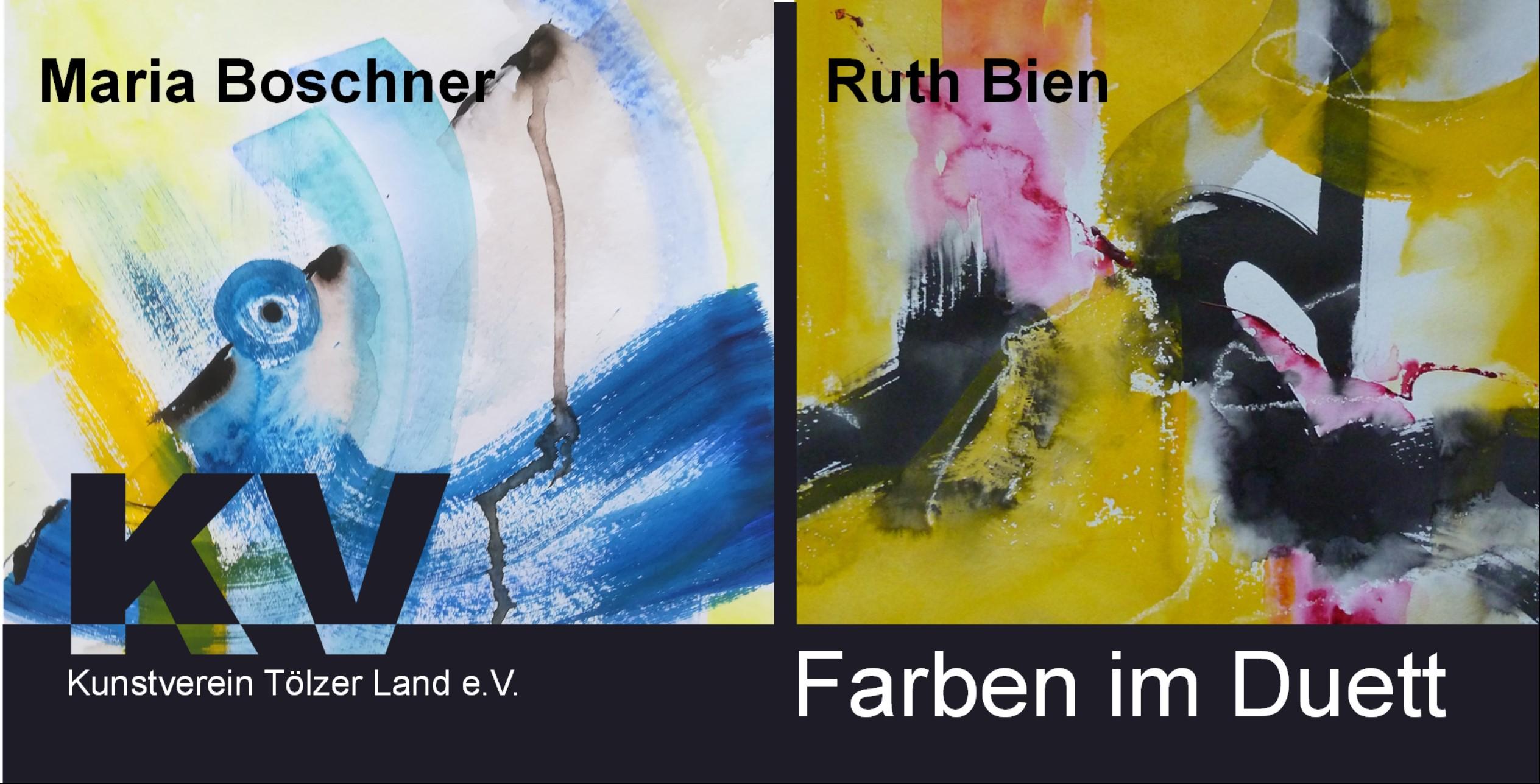 Ruth Bien & Maria Boschner - Farben im Duett