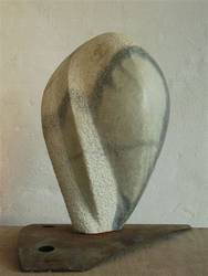Kopf, Marmor, 35cm, 2002