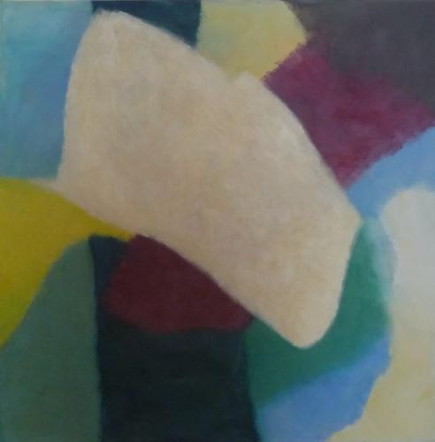 Farbfeld Nr.14, 2011, 80x80, Leinwand