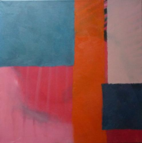 Farbfeld Nr.16, 2011, Leinwand, 50x50