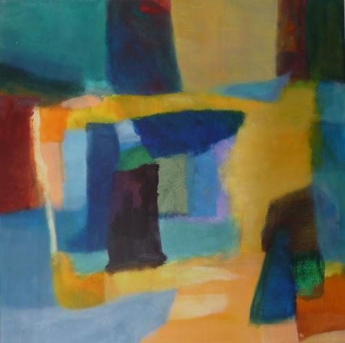 Farbklang Nr.24, 2012, Leinwand, 60x60