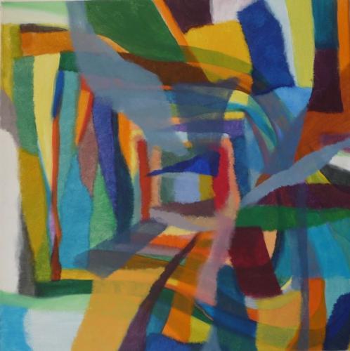 Farbklang Nr. 32, 2012, Leinwand, 50x50
